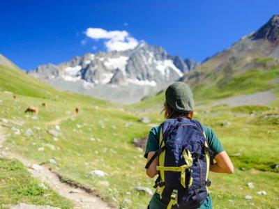 Cuerda Larga hiking route in Navacerrada