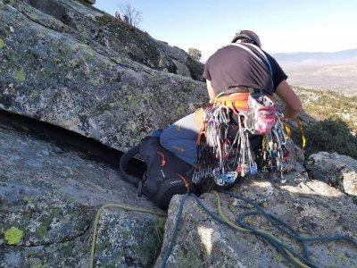 Climbing route Via Ignatius in La Pedriza 5 hours