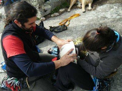 Climbing route in Via Sur Clásica La Pedriza 6 h
