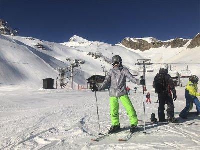 Initiation ski classes in Astún 3 hours