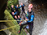 Swim, jump, abseil the canyons
