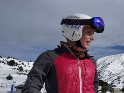 Private ski lessons in Candanchú 1 hour