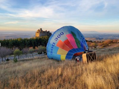 Hot Air Balloon Flight Over Loarre for Kids