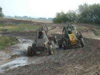 Off-road dirt track
