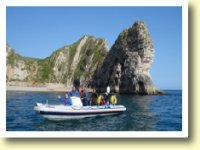 Powerboating in beautiful locations