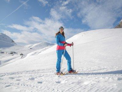 Snowshoeing to the Seven Peaks in Navacerrada
