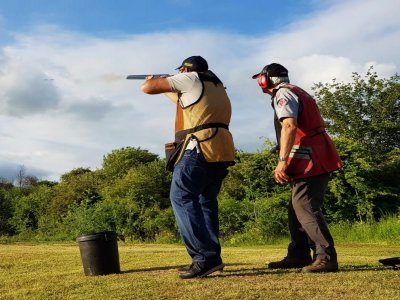 Shooting 10 shots in Hertfordshire