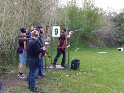 Shooting 50 rounds in Hertfordshire