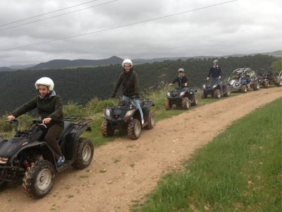 Quad route through the Júcar Valley 1:30 hours