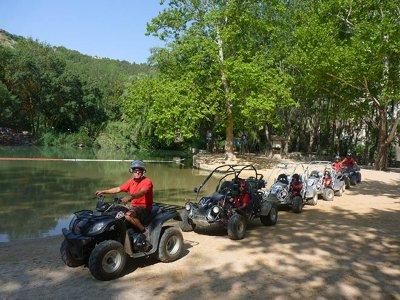 Quad route through the Júcar Valley 30 minutes