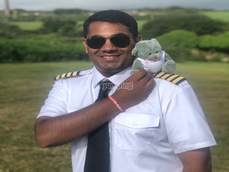 One of our pilots