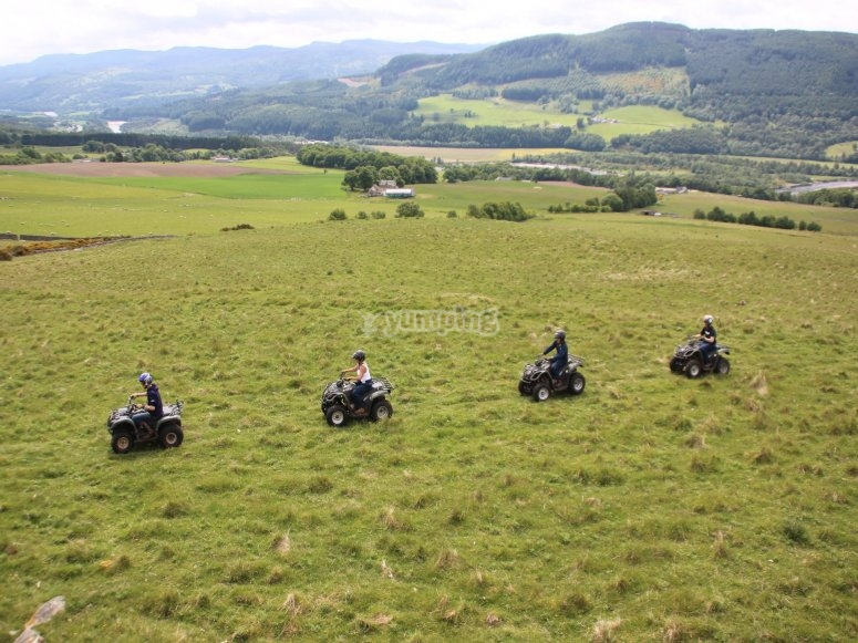 Group quad trek