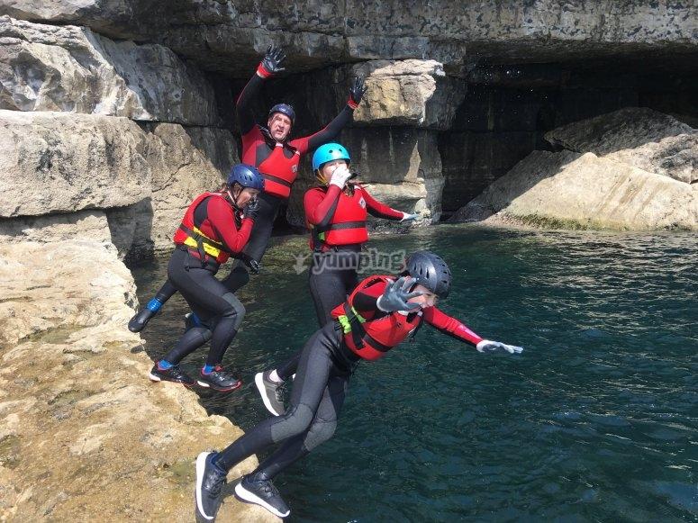 Group jump