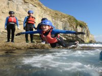Youth coasteering in Dorset half day