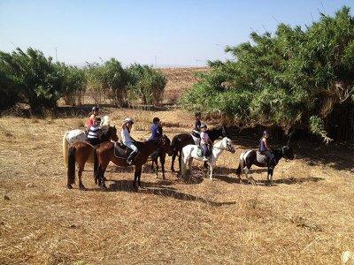 Horse riding to Puente de los Nogales Easy 1h