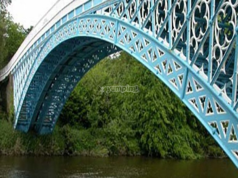 Bridge along the River Dee