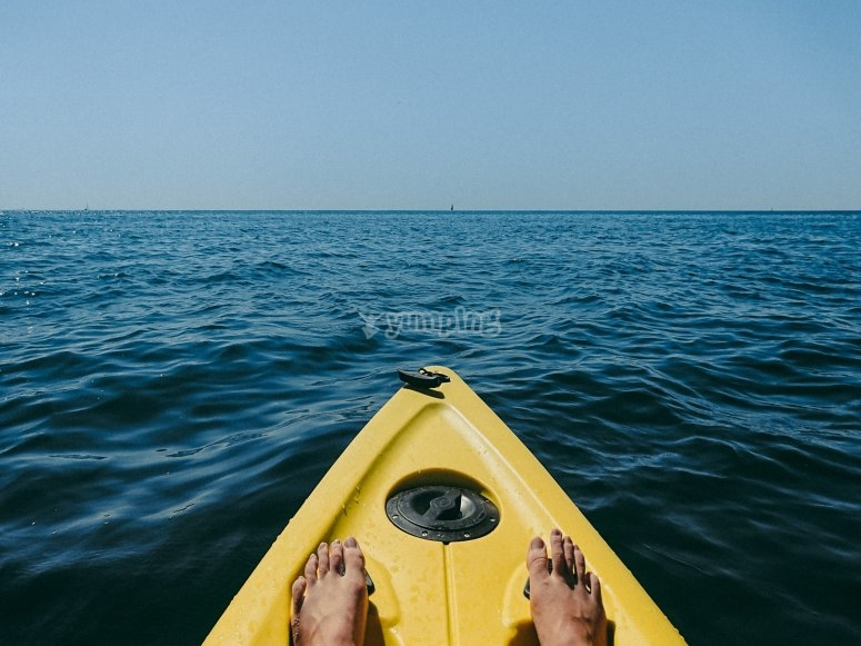 Enjoy the peace of the open water
