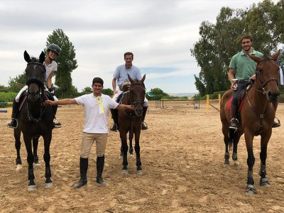 Horse riding class for children from 3 to 6 years old 1 hour