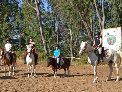 Horse riding class for children from 3 to 6 years old 30 mins