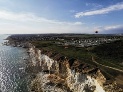 Introductory tandem paragliding Brighton 20 minute