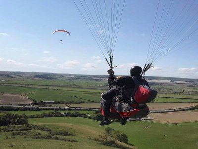 Tandem paragliding Brighton 20 minute with video