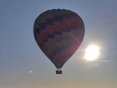 Hot air balloon flight Sierra Norte de Sevilla