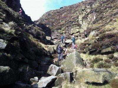 Mountain Adventure Scrambling Day, Peak District