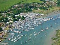 The beautiful Port Hamble Marina is an ideal location