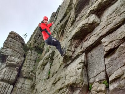 Full Day of Climbing and Abseiling Cadshaw Castle