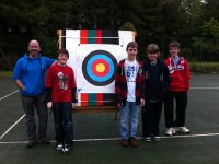 Family group archery