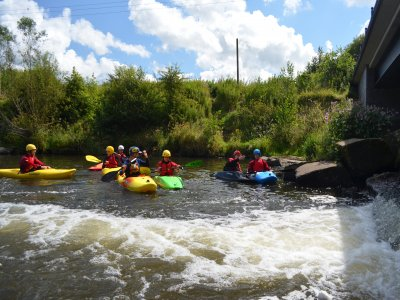 Half day white water kayaking in South Manchester