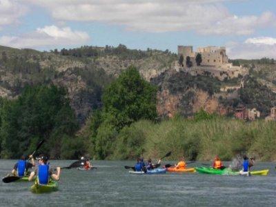 Canoeing from Mora to Miravet (Tarragona)