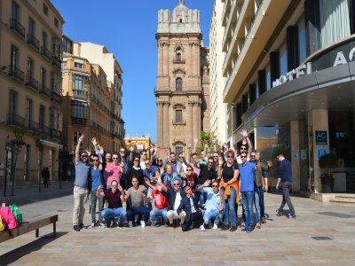 Interactive gymkhana for teambuildings in Malaga