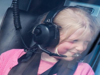 Helicopter Flight over Manchester 6 Miles