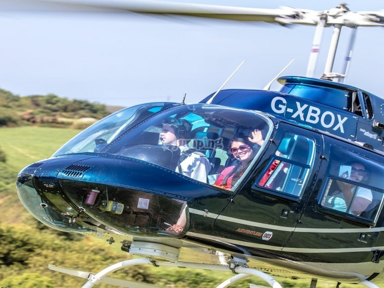 Our jet powered helicopters