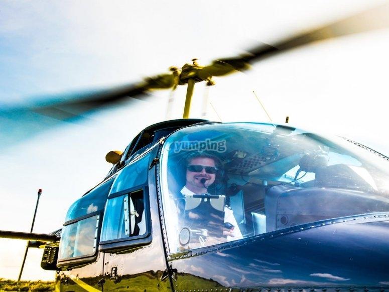 Our friendly pilot crew