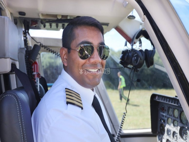 One of our awesome pilots