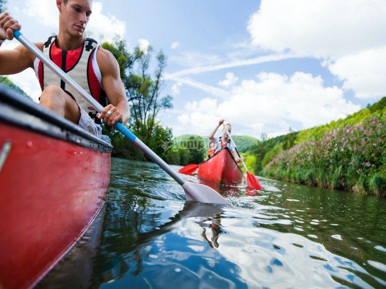 Kayaking around the Thames