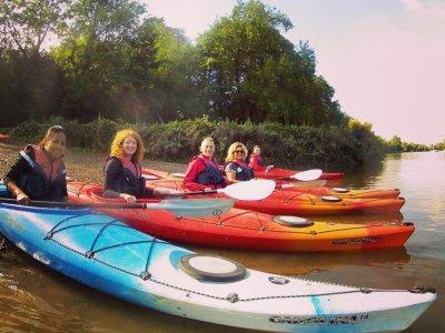 Kayaking route around Eel Pie Island 2.5 Hours