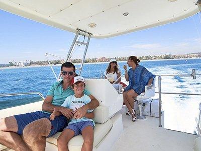 Cattleya boat rental with Santa Pola license 4h