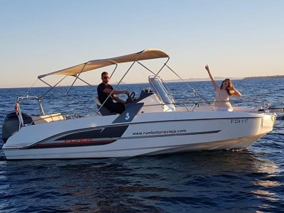 Cattleya boat rental with license Santa Pola 8h