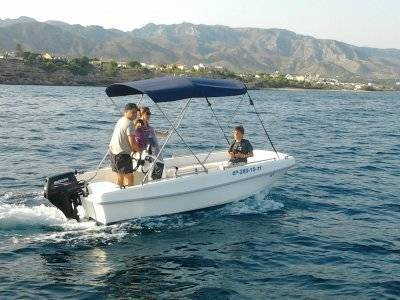 Boat Rental in L'Ametlla 4h without certification