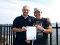PADI certificates