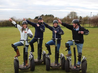 Rent a Segway in Thoresby Courtyard for 60min