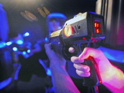 +QSurf Laser Tag