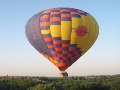 Balloon flight with lunch for children Guadarrama