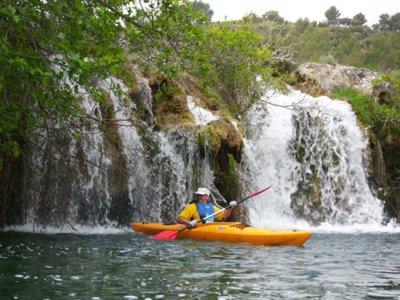 Kayak in the Lagunas de Ruidera in Ruidera Adults