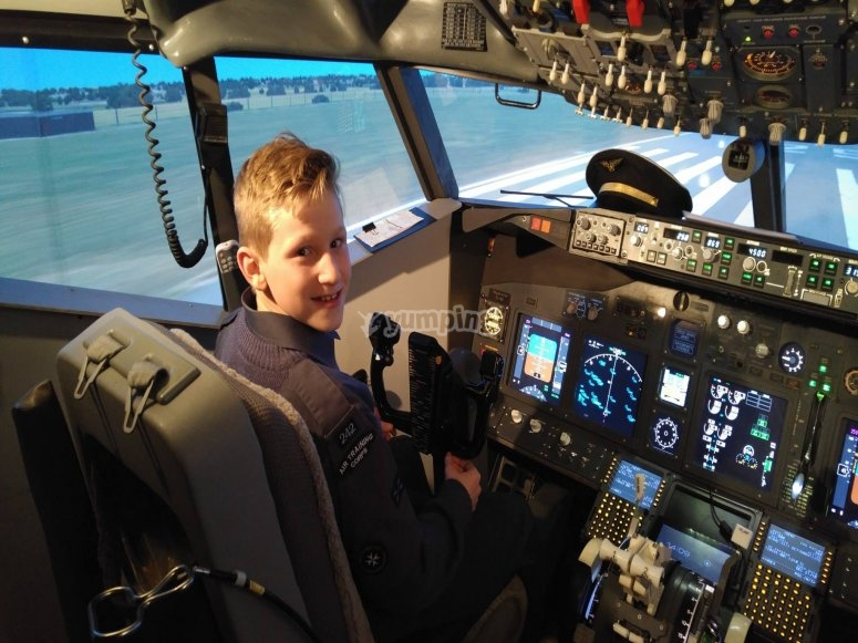Training to be a pilot