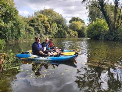 Kayak River Medway for 4 hours