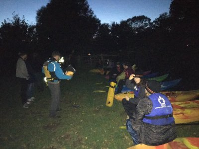 Night kayaking in Sussex for 3 hours